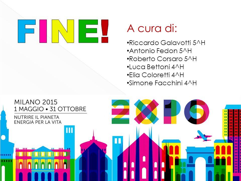 Riccardo Galavotti 5^H Antonio Fedon 5^H Roberto Corsaro 5^H Luca Bettoni 4^H Elia Coloretti 4^H Simone Facchini 4^H A cura di: