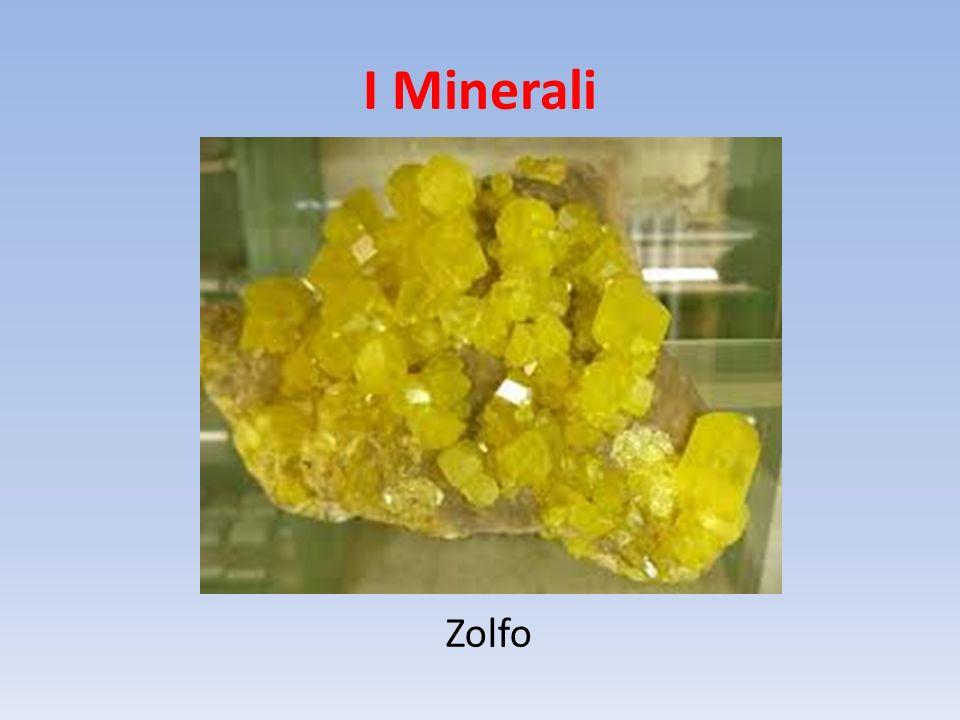 I Minerali Zolfo