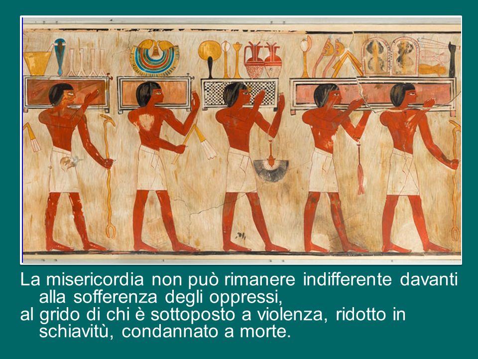 Si legge nel Libro dell'Esodo: «Dopo molto tempo il re d'Egitto morì.
