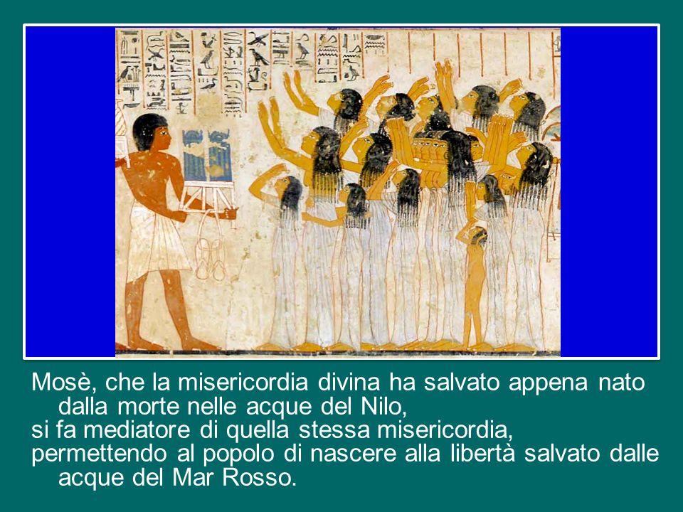 È così che comincia la storia di Mosè come mediatore di liberazione per il popolo.