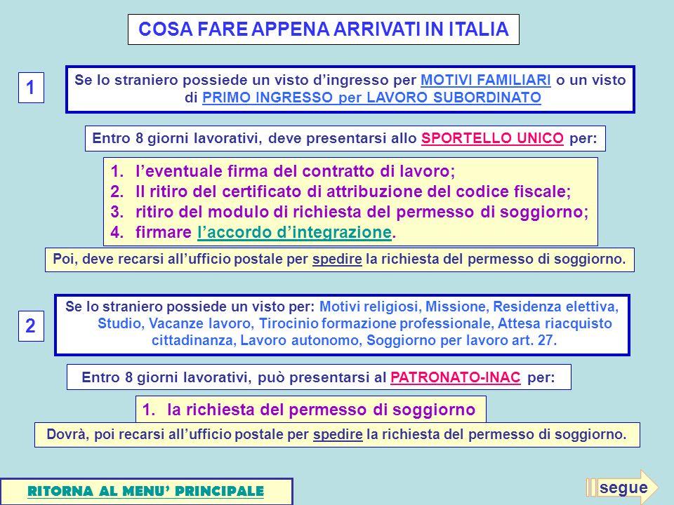 Awesome Carta Soggiorno Per Motivi Familiari Photos - Amazing Design ...