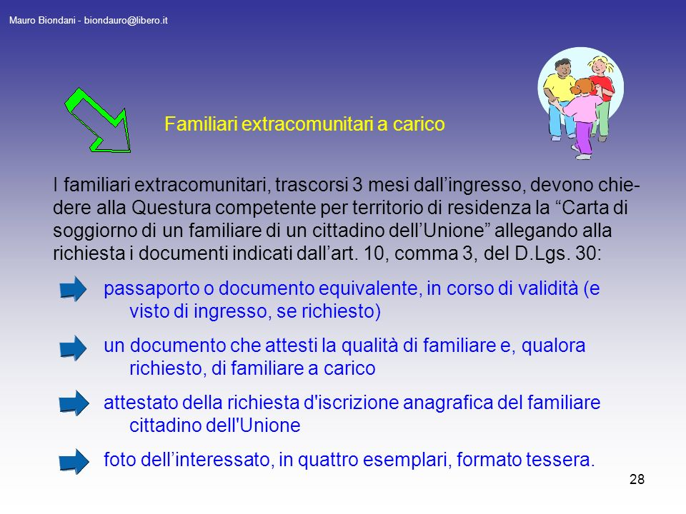 Beautiful Carta Di Soggiorno Permanente Extracomunitari Pictures ...