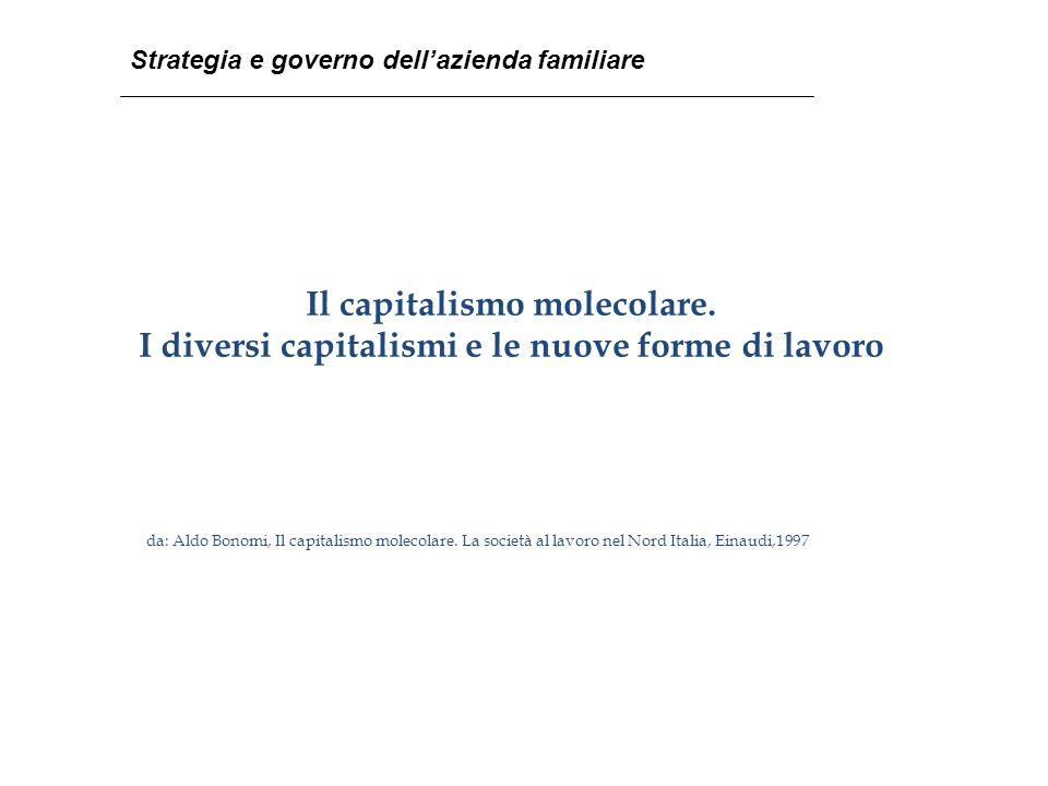 Il capitalismo molecolare.