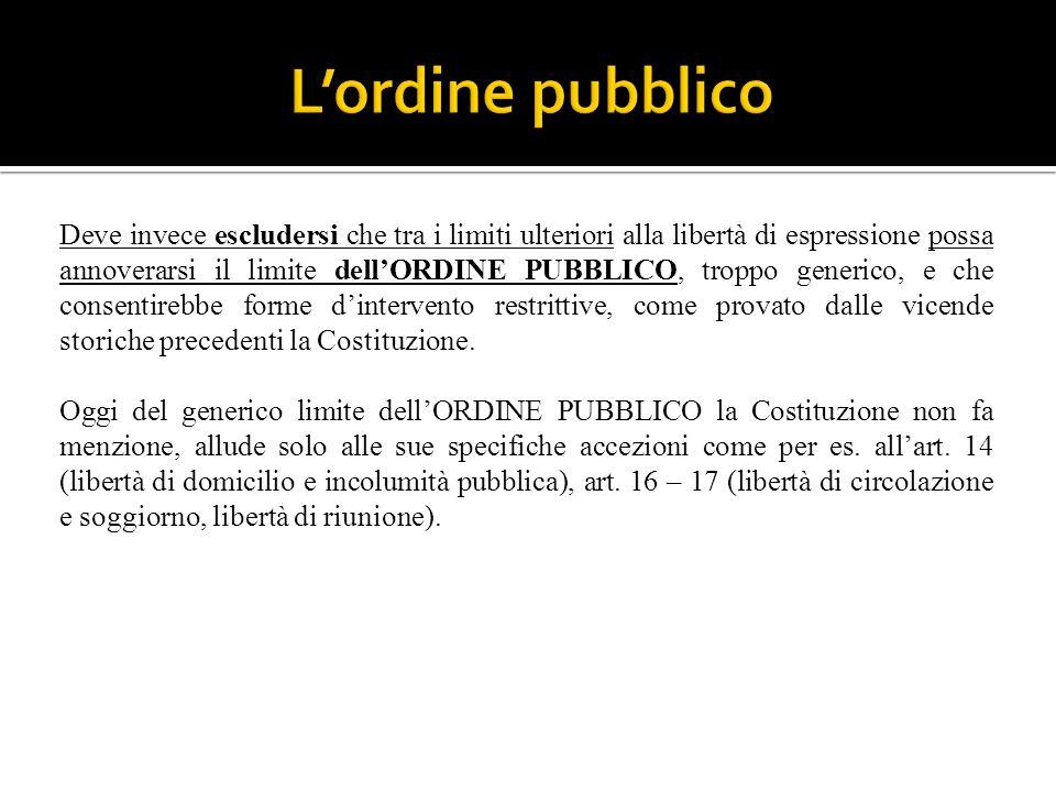 Dott.ssa Antonietta Rubino. 1. Tutti hanno diritto di manifestare ...