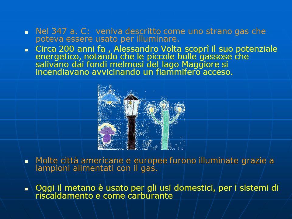 Il gas naturale è una miscela di varie sostanze gassose. Viene estratto da giacimenti sotterranei e prima di essere utilizzato vengono eliminati anidr