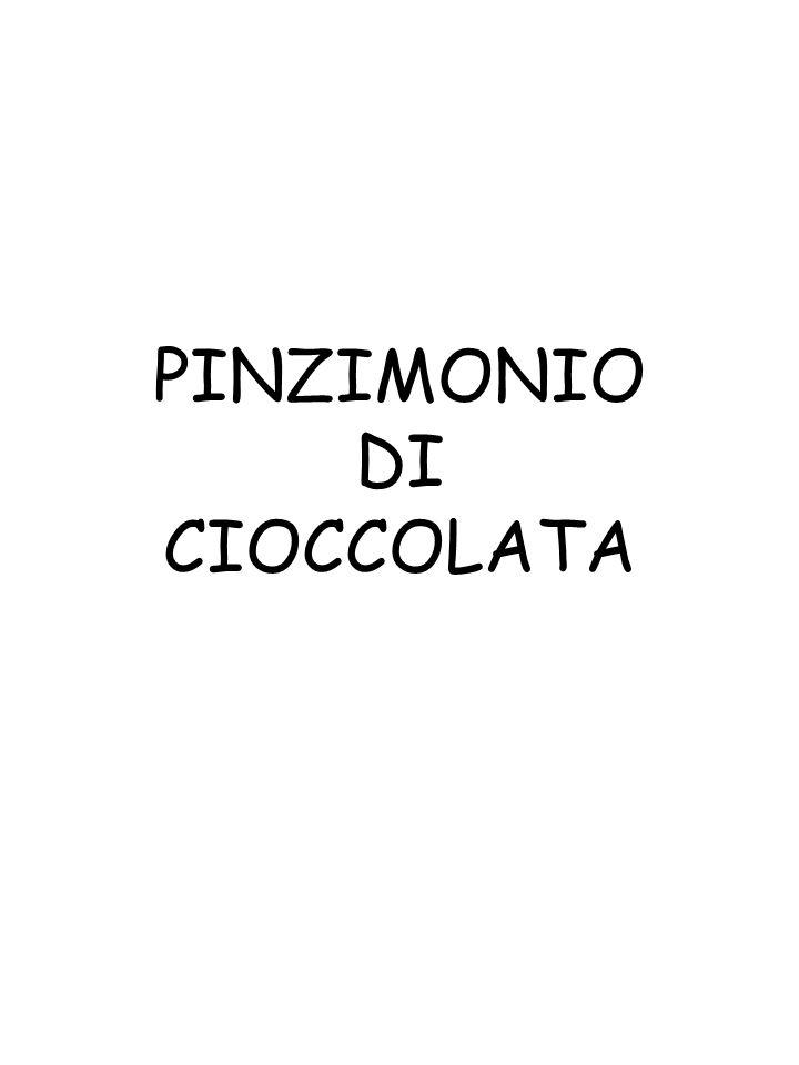 PINZIMONIO DI CIOCCOLATA