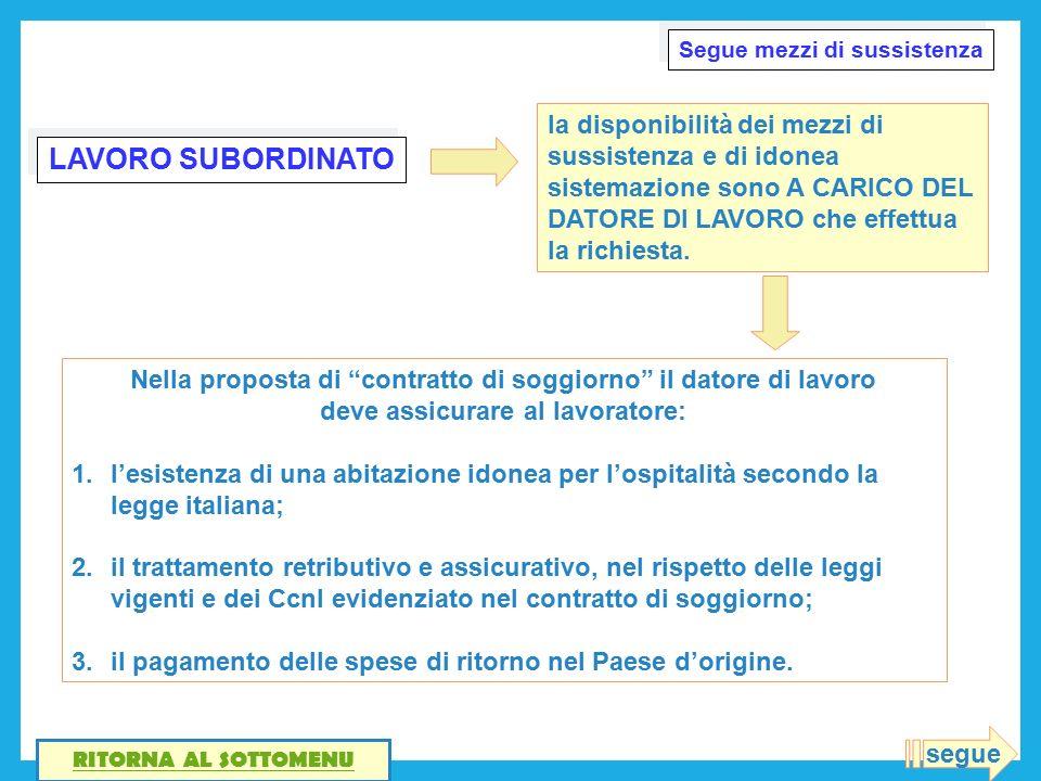 Beautiful Contratto Di Soggiorno Per Lavoro Subordinato Images ...