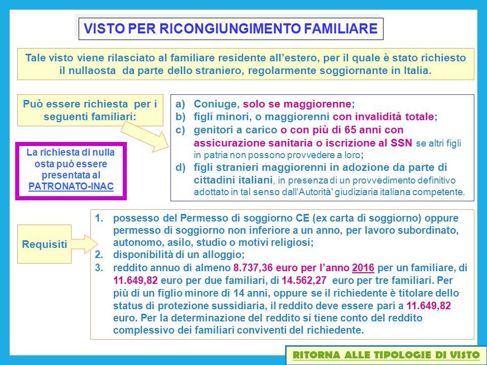Stunning Carta Di Soggiorno Per Ricongiungimento Familiare Ideas ...