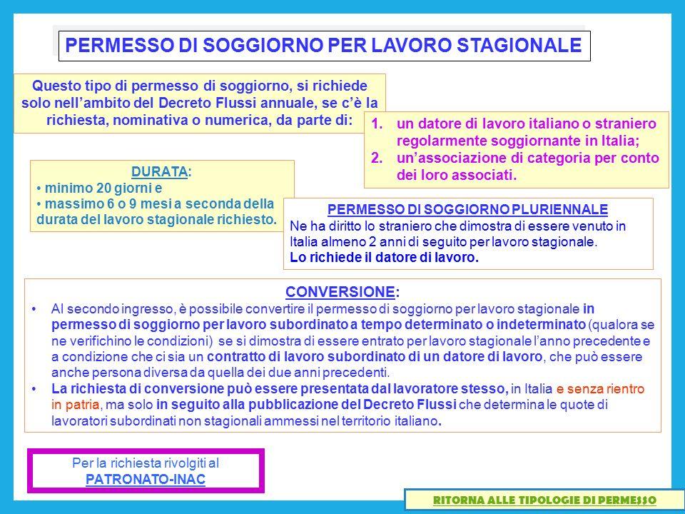 Beautiful Carta Di Soggiorno A Tempo Indeterminato Pictures - Idee ...