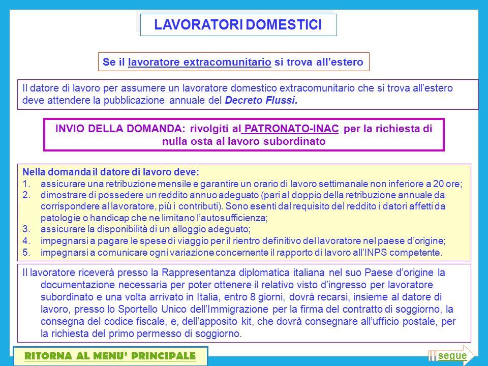 Beautiful Contratto Di Soggiorno Per Lavoro Subordinato ...