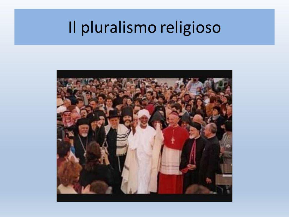 Il pluralismo religioso