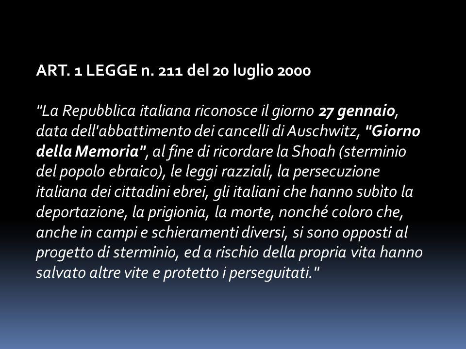 ART.1 LEGGE n.