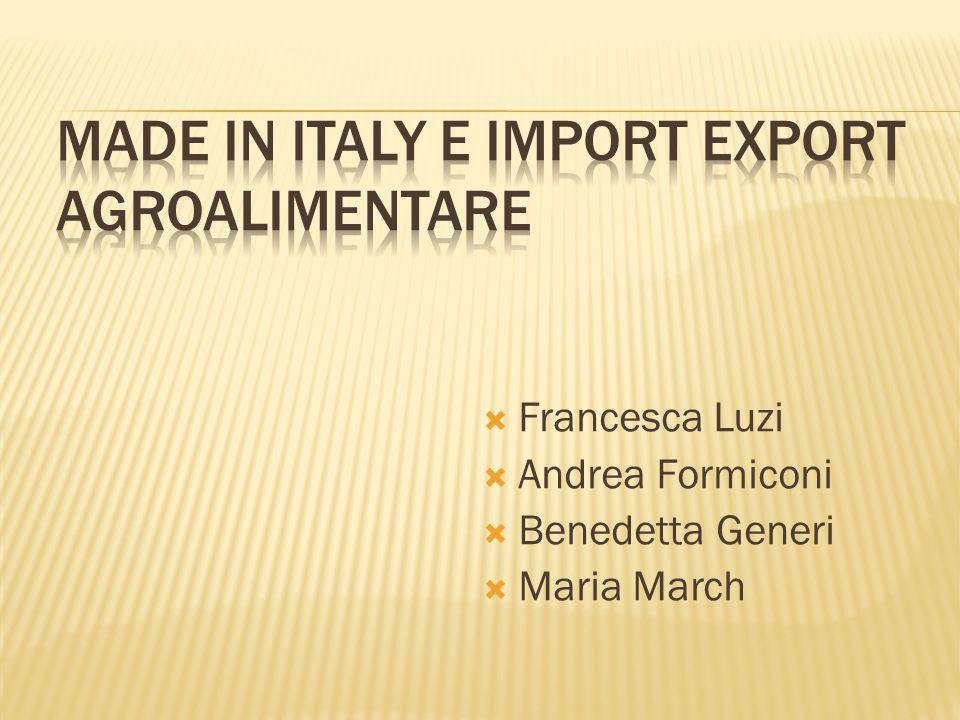  Francesca Luzi  Andrea Formiconi  Benedetta Generi  Maria March