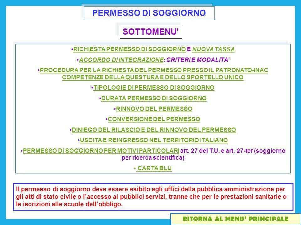 Integrazione Pratica Permesso Di Soggiorno – Idea d\'immagine di ...