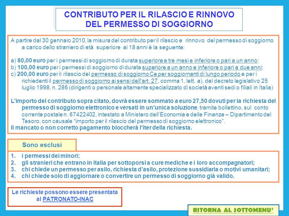 Beautiful Carta Di Soggiorno Per Stranieri Images - Home Design ...