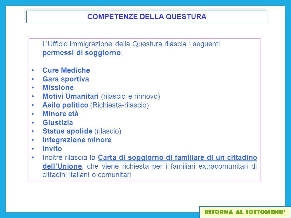 Best Carta Di Soggiorno Motivi Familiari Gallery - Design Trends ...