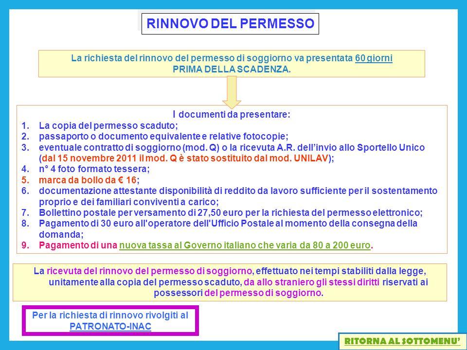 Best Contratto Di Soggiorno Modello Q Ideas - Idee Arredamento ...
