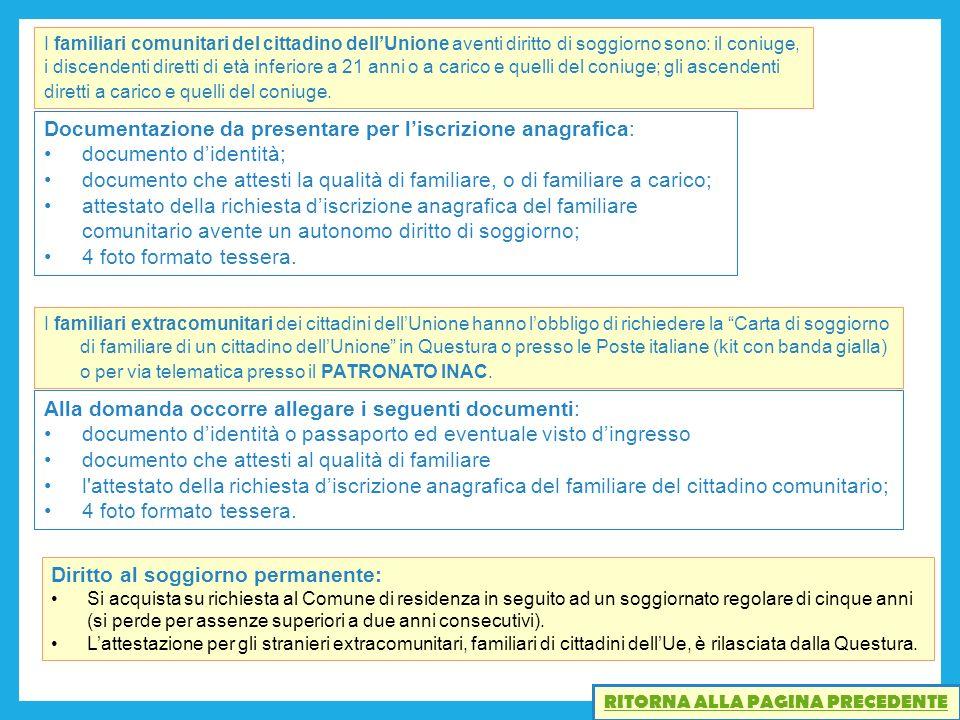 Attestazione Di Soggiorno Per Comunitari – Idea d\'immagine di ...
