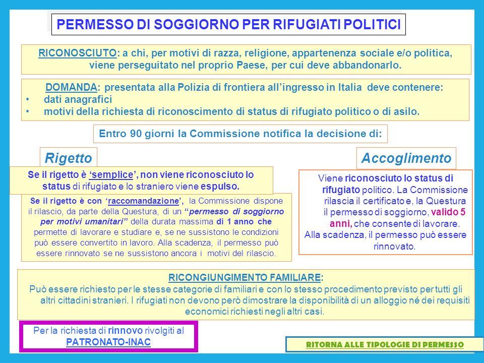 Emejing Rilascio Carta Di Soggiorno Photos - Design and Ideas ...