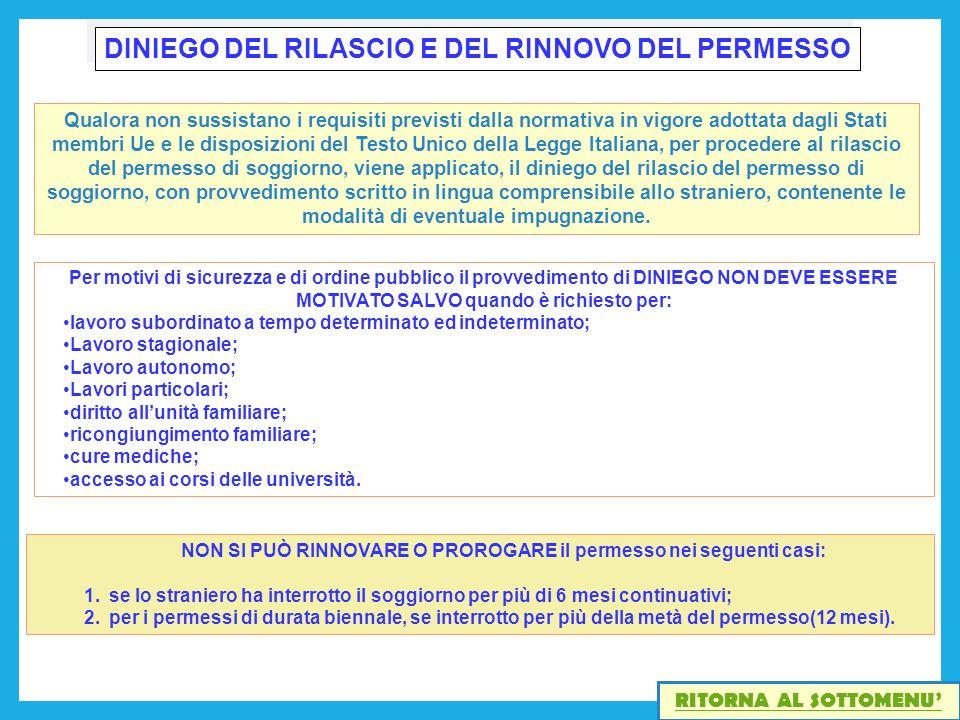Emejing Rinnovo Carta Di Soggiorno Per Motivi Familiari Ideas - Idee ...