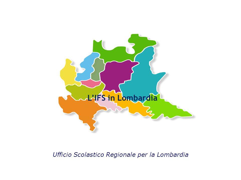 L'IFS in Lombardia Ufficio Scolastico Regionale per la Lombardia