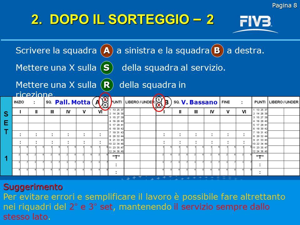 Bassano del Grappa Palazzetto dello Sport B1 2311 Volley Bassano VIPallavolo Motta TV 23/2/2013 21:00 X Pagina 7 2.