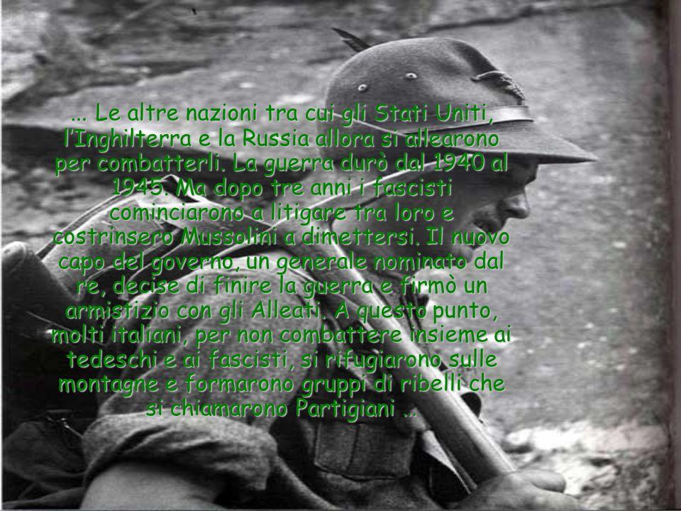 Durante il fascismo i bambini imparavano a fare la guerra.