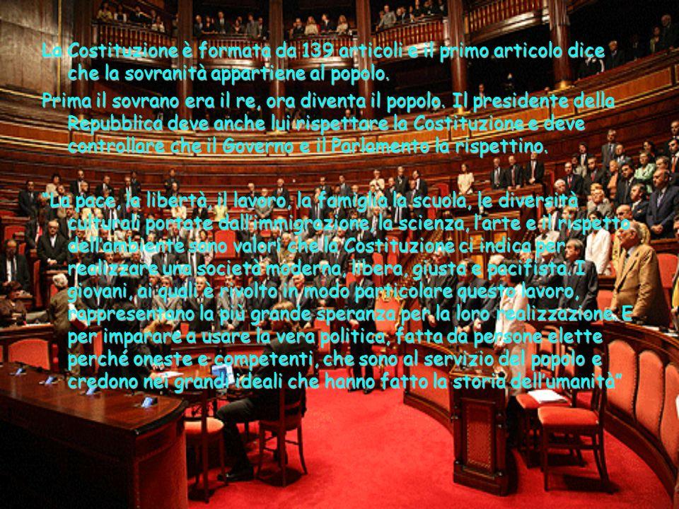 Il 2 giugno 1946 il popolo decise con un referendum se essere un paese sotto la monarchia oppure una Repubblica.