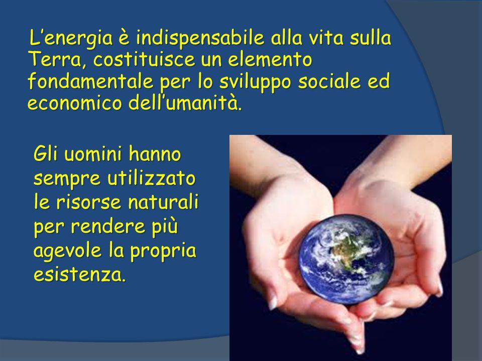 Oggi siamo arrivati, al punto in cui l utilizzo intensivo delle risorse porta ad un momentaneo miglioramento di vita, seguito da danni irreversibili per l ambiente.