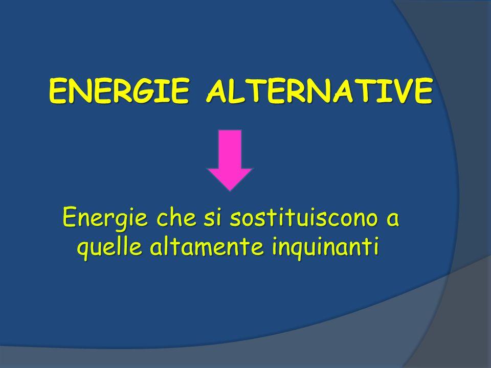 L evoluzione della ricerca scientifica, in questo campo, ha avuto moltissimi risultati, sviluppando fonti energetiche rinnovabili tra cui:  l eolico  il solare  l idroelettrico  il geotermico.