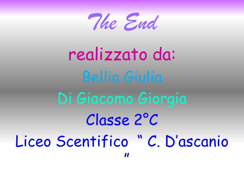 The End realizzato da: Bellia Giulia Di Giacomo Giorgia Classe 2°C Liceo Scentifico C.