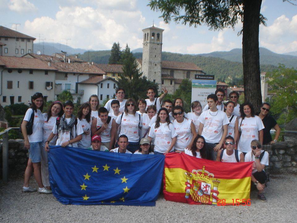 FINANZIAMENTO DELLO SCAMBIO Il progetto è finanziato dall' Unione Europea, che permette ai giovani di attuare scambi fra gruppi giovanili, a livello nazionale, europeo e mondiale.