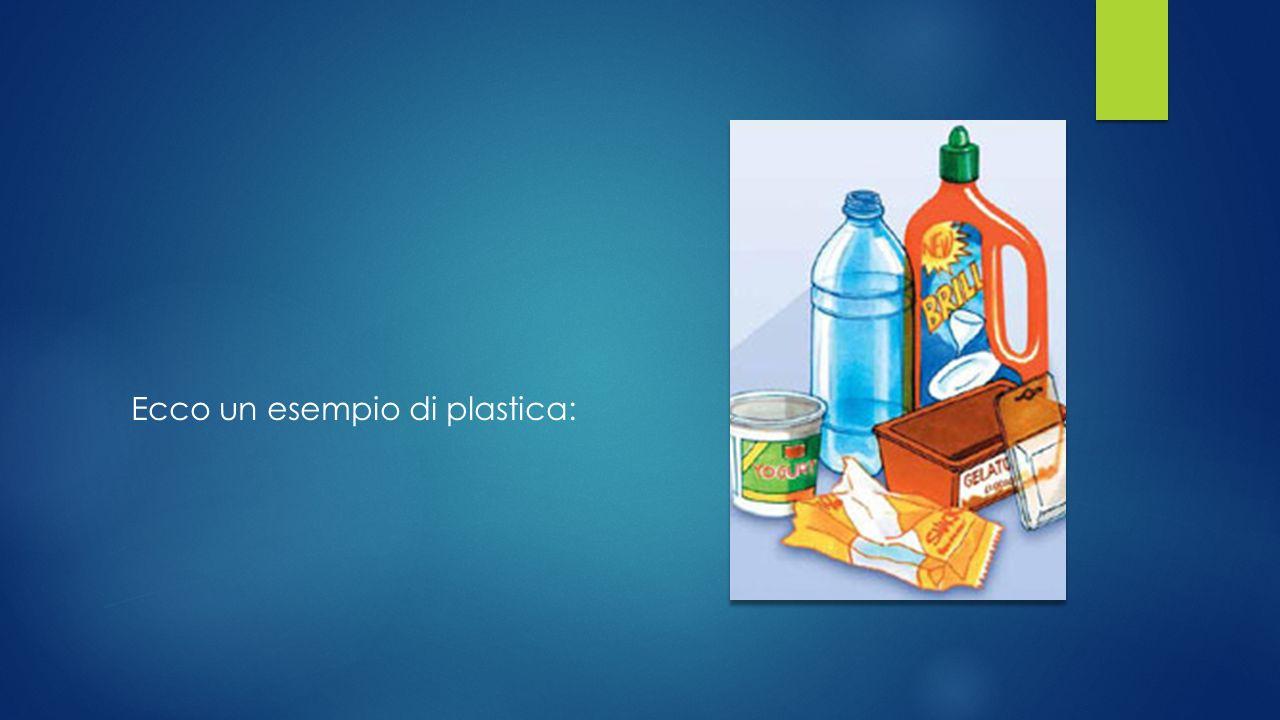 plastica Per una corretta raccolta differenziata degli imballaggi in plastica è necessario accertare che siano vuoti, ridurne l'ingombro e gettarli nella giusto contenitore.