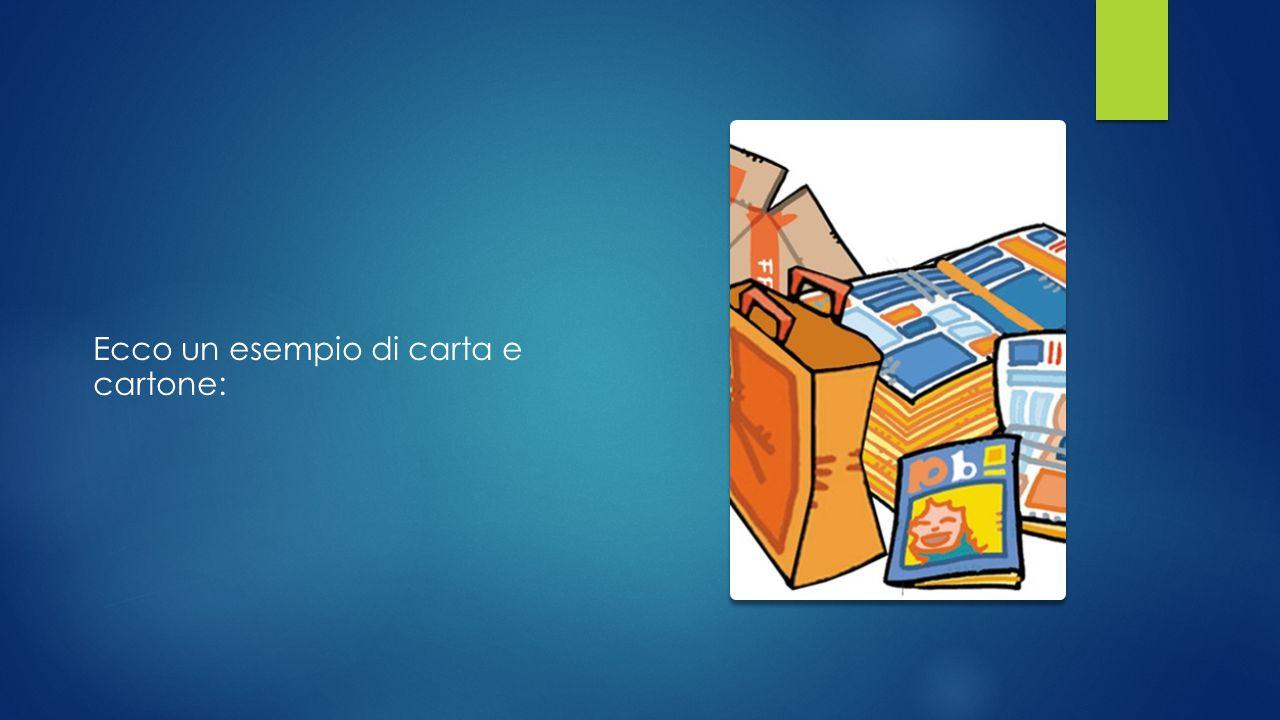 CARTA E CARTONE Per far funzionare il riciclo degli imballaggi di carta e cartone è necessario separarli dagli altri materiali, riducendo il volume delle confezioni.