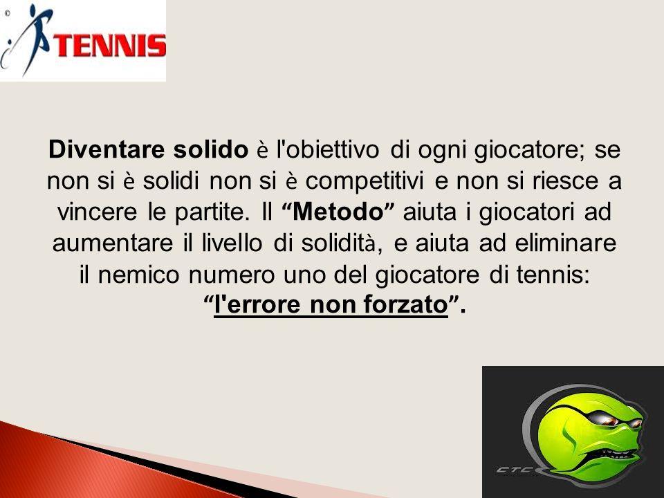 Diventare solido è l obiettivo di ogni giocatore; se non si è solidi non si è competitivi e non si riesce a vincere le partite.