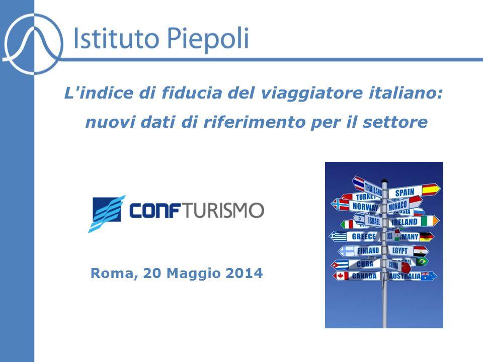 Roma, 20 Maggio 2014 L indice di fiducia del viaggiatore italiano: nuovi dati di  riferimento per il settore