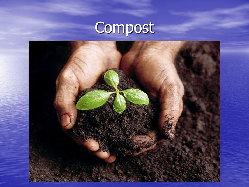 È importante ricordare che il compost non è un rifiuto, ma un prodotto.
