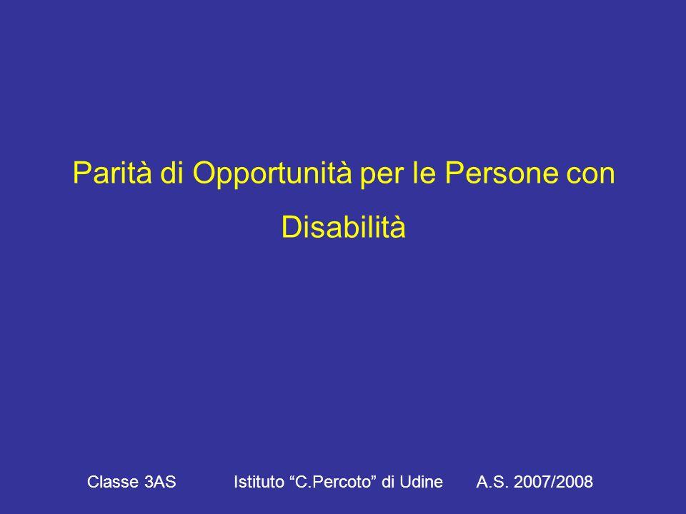 I principi della Convenzione ONU Classe 3AS Istituto C.Percoto di Udine A.S. 2007/2008