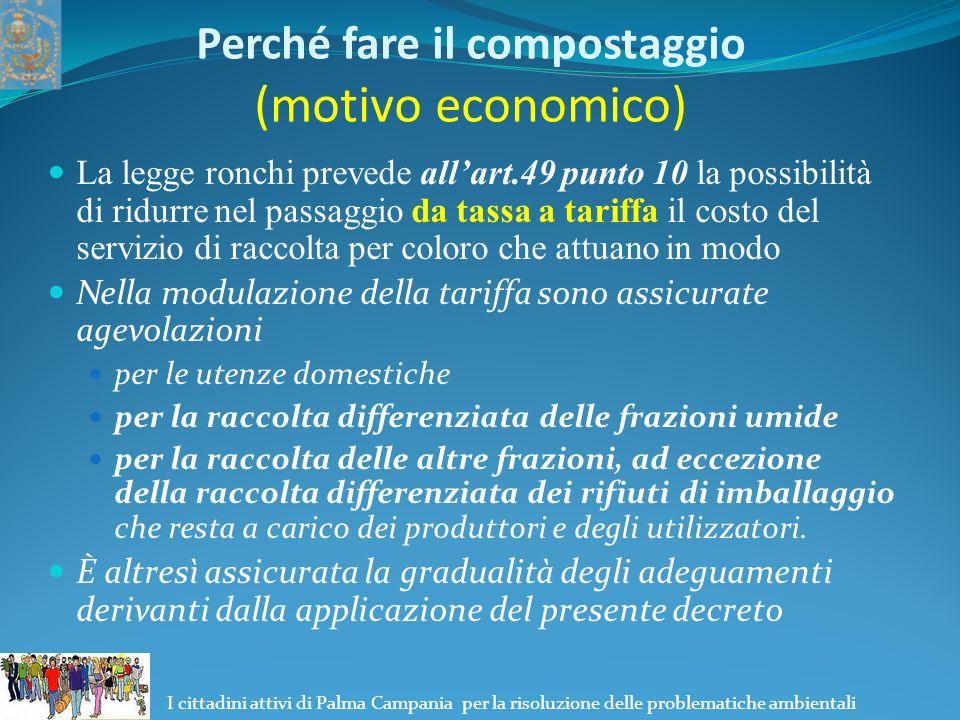 I cittadini attivi di Palma Campania per la risoluzione delle problematiche ambientali Cosa Compostare