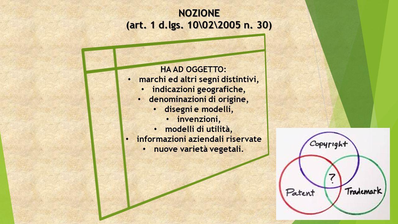 NOZIONE (art. 1 d.lgs. 10\02\2005 n.