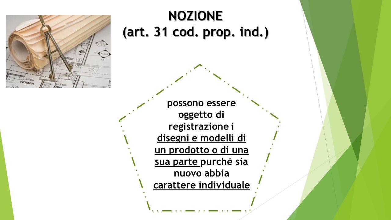 NOZIONE (art. 31 cod. prop.