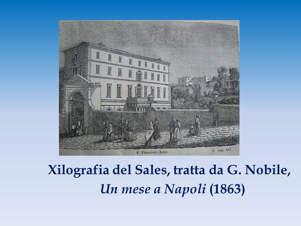 Xilografia del Sales, tratta da G. Nobile, Un mese a Napoli (1863)