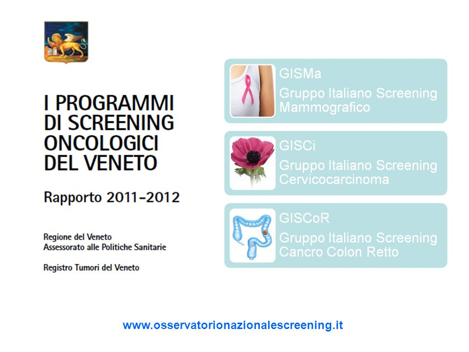 www.osservatorionazionalescreening.it