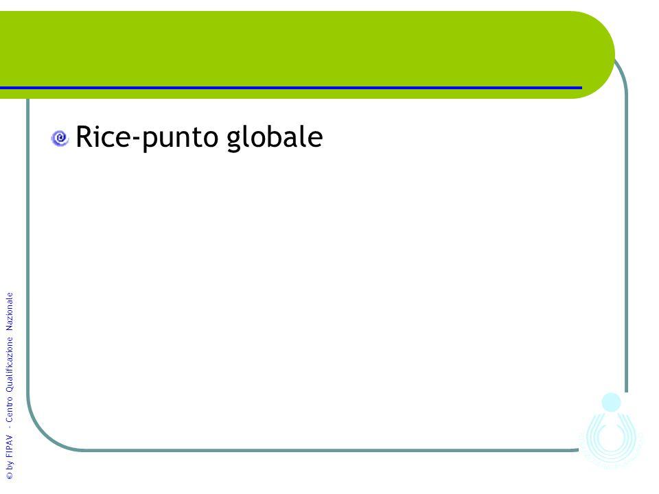 © by FIPAV - Centro Qualificazione Nazionale Rice-punto globale