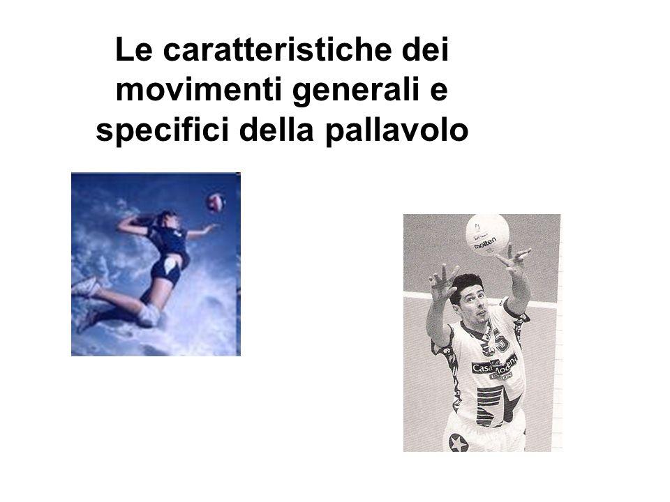 Se prendiamo in considerazione la specificità dei movimenti della pallavolo considerando ad esempio la rincorsa della schiacciata, gli appoggi per la difesa o gli spostamenti a muro, possiamo variare i test rendendoli più specifici.