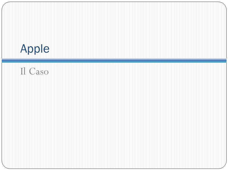 Apple Il Caso