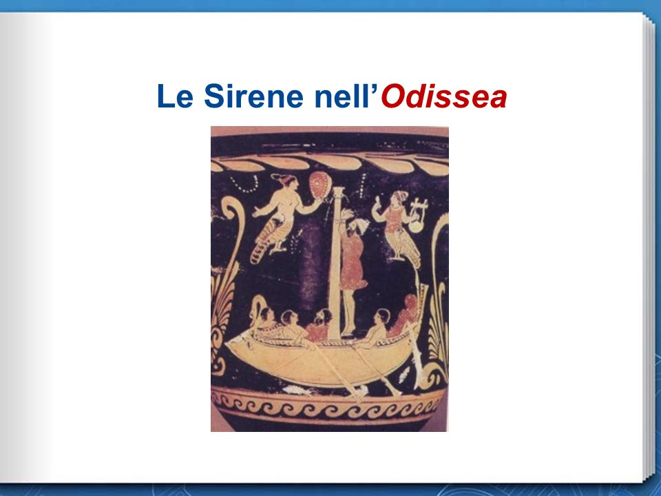 Le Sirene nell'Odissea