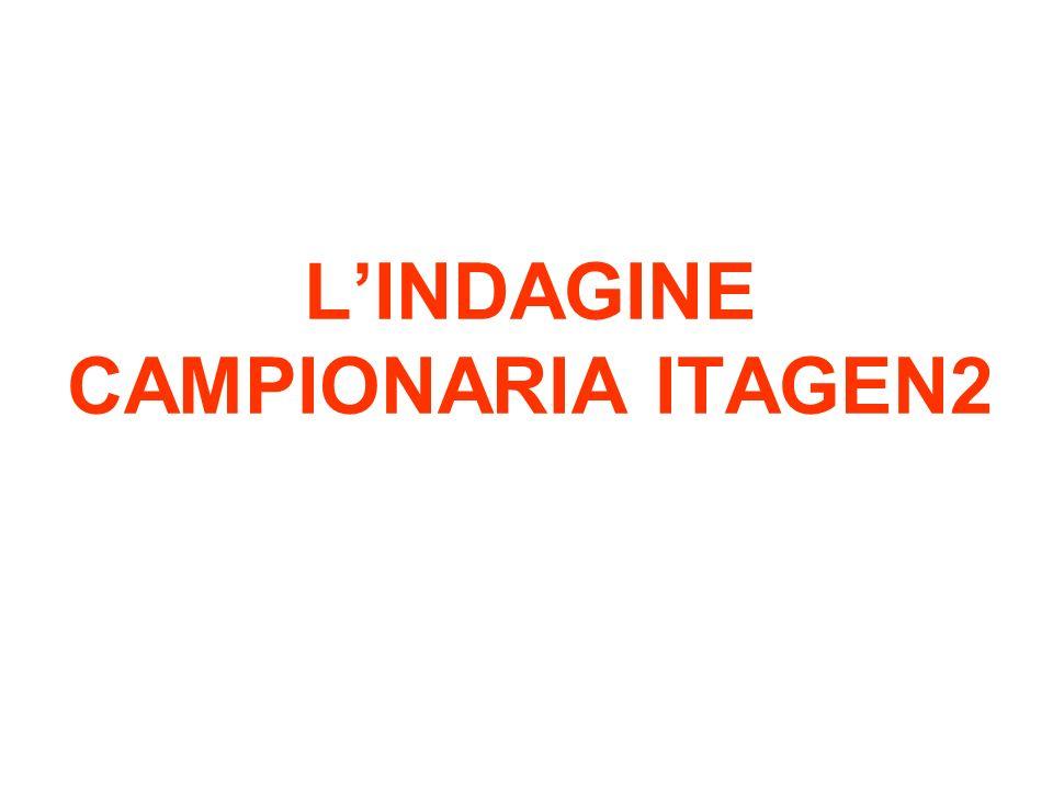 L'INDAGINE CAMPIONARIA ITAGEN2