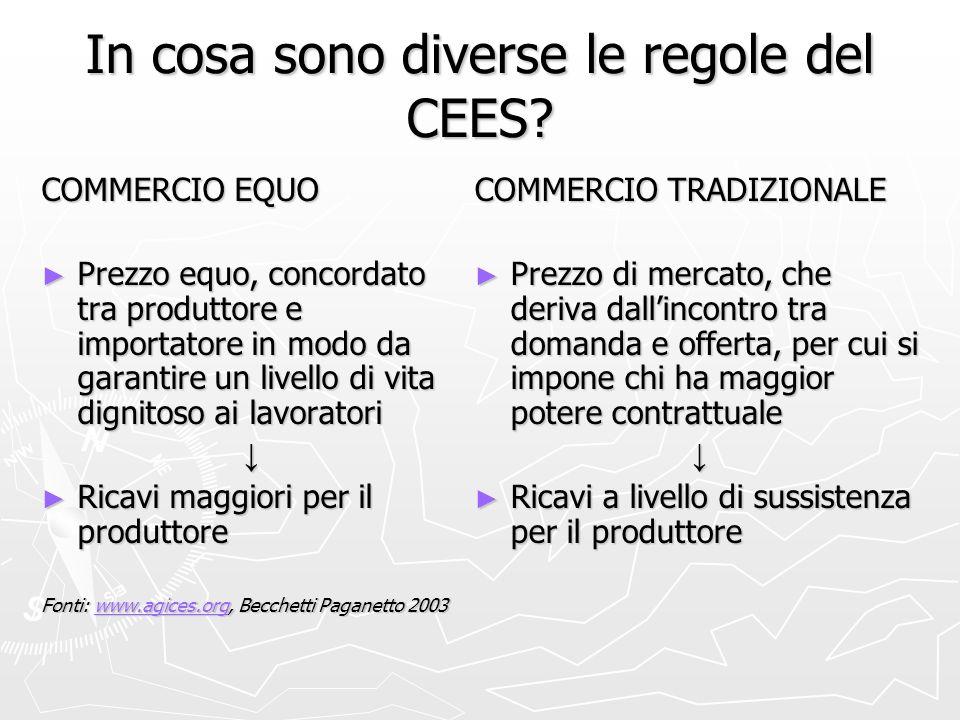 In cosa sono diverse le regole del CEES.