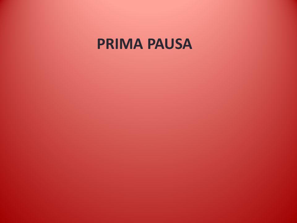 PRIMA PAUSA